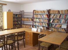 Oprava knihovny Dubenec